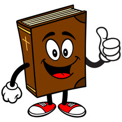 Bible School Mascot with Thumbs Up