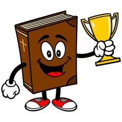 Bible School Mascot with Trophy