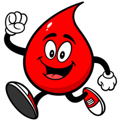 Blood Drop Running