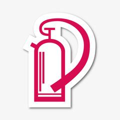 Logo extincteur.