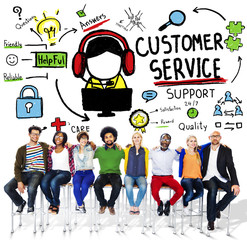 Customer Service Support Assistance Service Help Concept