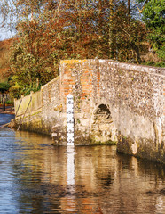 uk countryside eynsford bridge