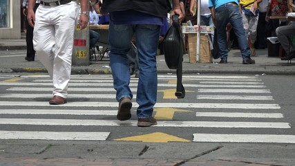 Pedestrians, People Walking
