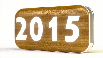 2015 wooden, white strings