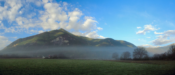 Morning in the Pyrenees
