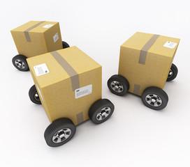Livraison mobile