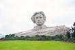 Leinwanddruck Bild - Chairman Mao statue in Changsha, Hunan Province, China