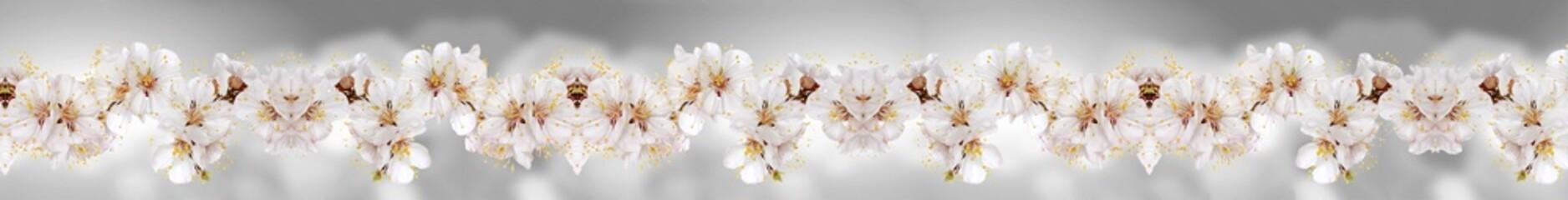орхидеи на сером фоне (металлика)