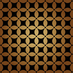 Sfondo con forme geometriche marrone e nero