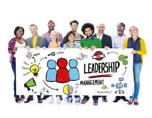 Diversity Casual People Leadership Banner Team