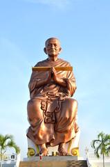 monk statue PRA-PUT-THA-CHAN-TO