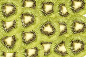 fresh kiwi fruit background