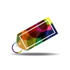 Tag Colorful Vector Icon Design