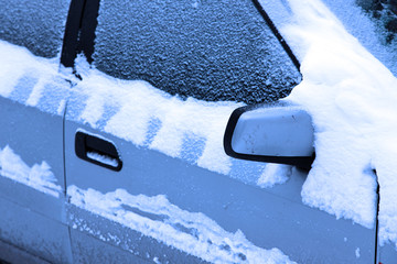 Autos im Winter