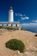 canvas print picture - Lighthouse on Formentera