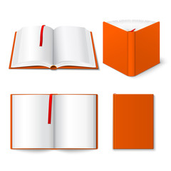 Open book templates set
