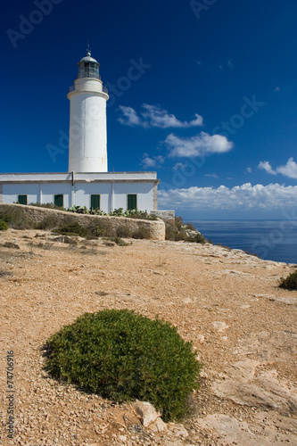 canvas print picture Lighthouse on Formentera