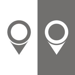 Icono localización BN