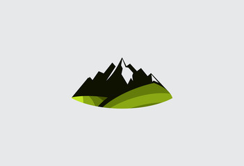 mountain-abstract-vector-logo