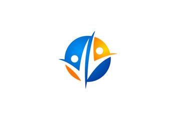 partner people business logo