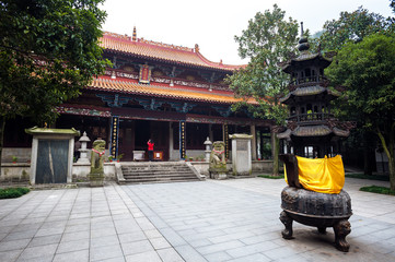 Lushan Temple at Yuelu Mountain, Changsha, China