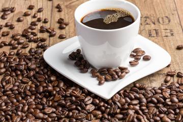 Eine gute Tasse Kaffee