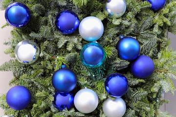 Blue baubles