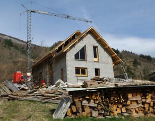 chantier - construction de maison individuelle