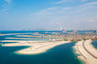 Dubai, UAE. The Palm island from above - 74709742