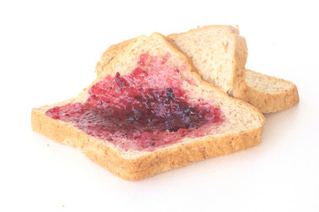 Slices of bread - Stock Image