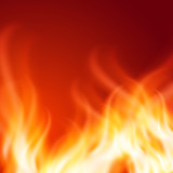 Fototapety Abstract fire background