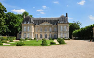 France, the picturesque village of  Boury en Vexin