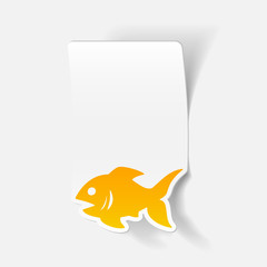 realistic design element: fish