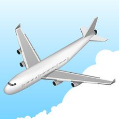 Airplane Isometric Icon