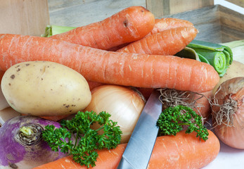 Légumes à potage