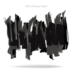 Abstract gray paint