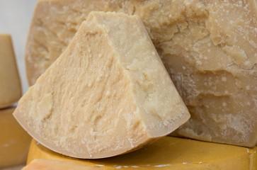 tasty seasoned Italian cheese for sale in dairy