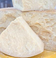 tasty big seasoned Italian cheese for sale in dairy