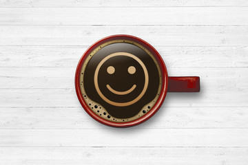 Smiley / Kaffeetasse
