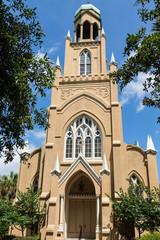 Massive Old Jewish Temple in Savannah