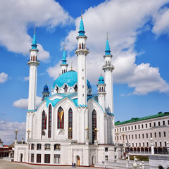 Qolsharif Mosque in Kazan Kremlin - the largest in Russia
