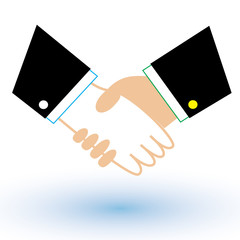 Business and finance handshakeicon