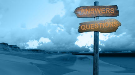 answers-questions