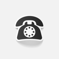 realistic design element: telephone