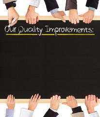 Quality Improvements