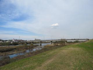 大分川の風景