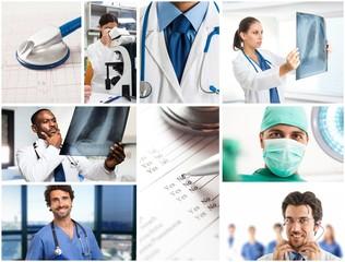 Medical people at work