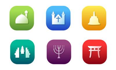 Icon Religion Vector