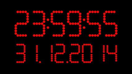 Uhrzeit mit Datum 2014 2015