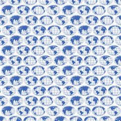 Globe maps pattern